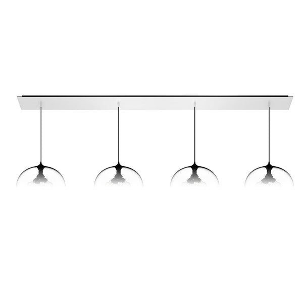 Matte White Linear-4 Large Canopy