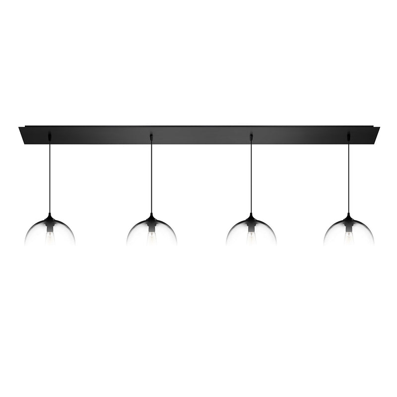 Matte Black Linear-4 Canopy