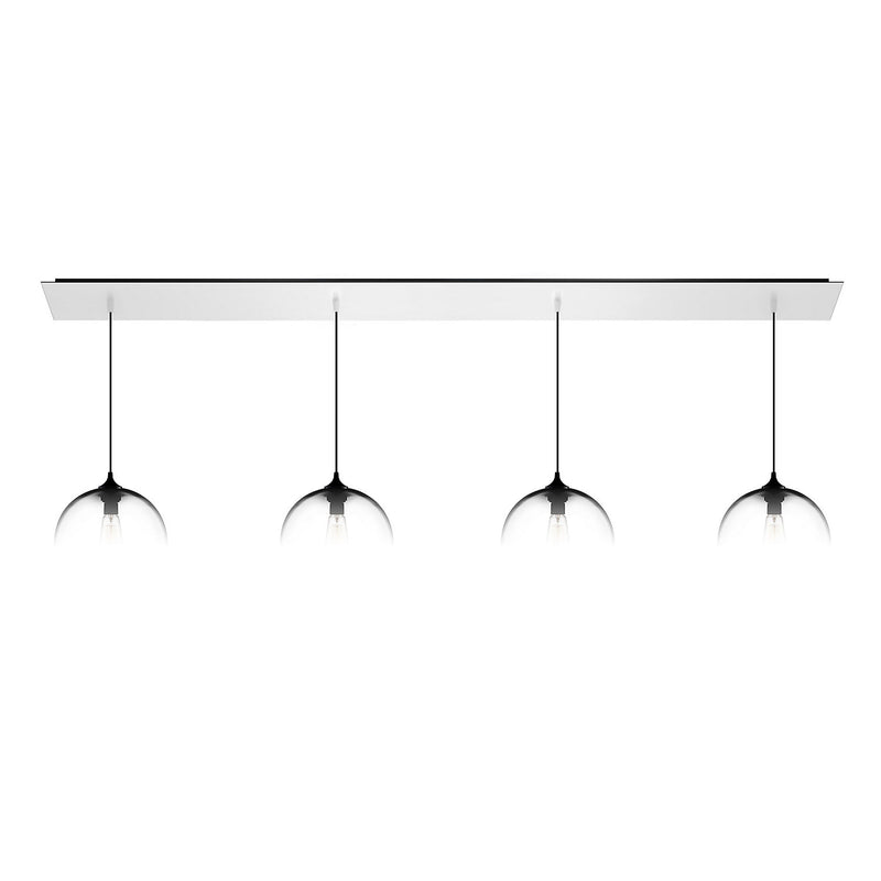 Matte White Linear-4 Canopy