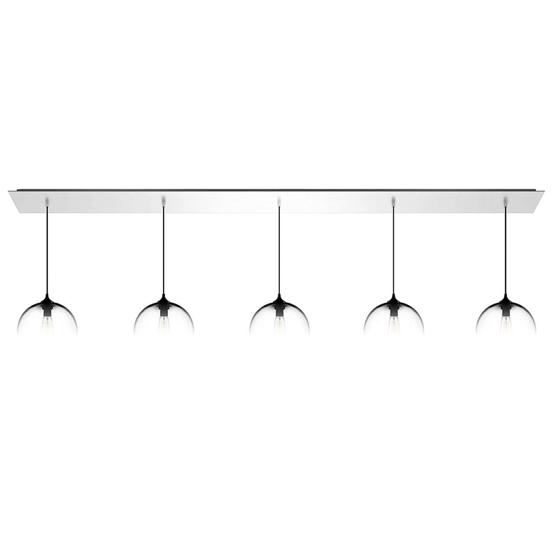 Matte White Linear-5 Canopy