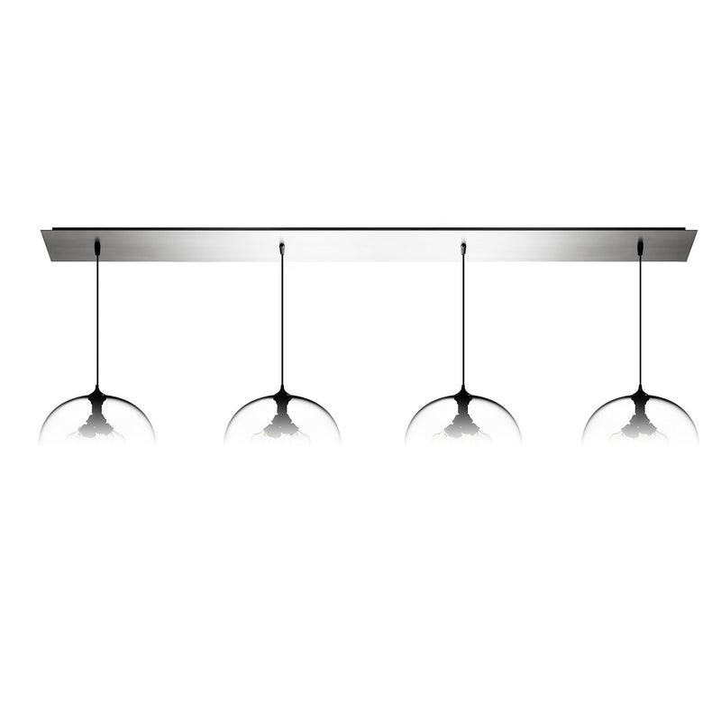 Polished Stainless Linear-4 Large Canopy
