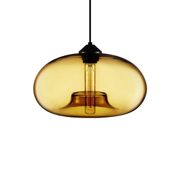 Amber Aurora Pendant Light