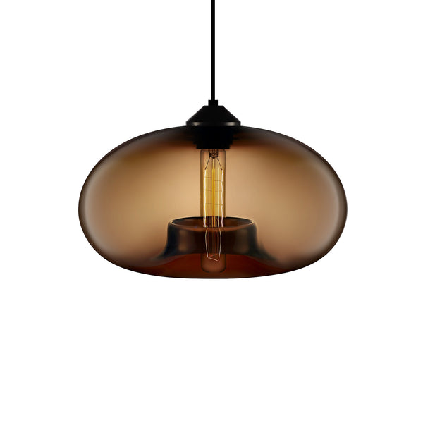 Chocolate Aurora Pendant Light