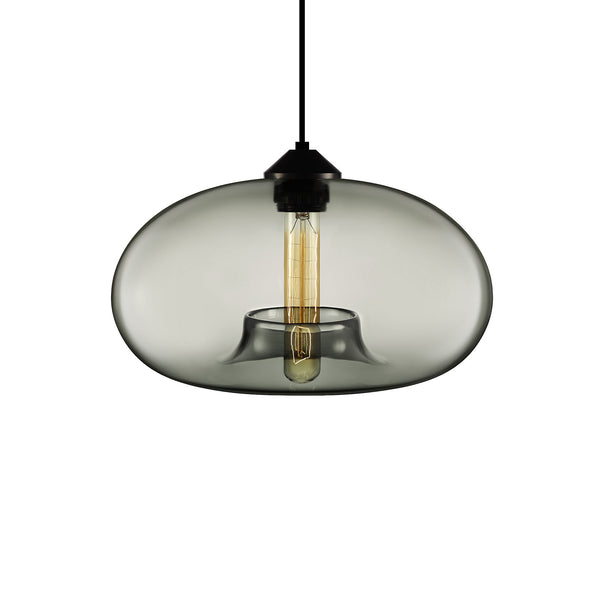Gray Aurora Pendant Light