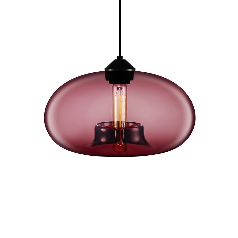 Plum Aurora Pendant Light