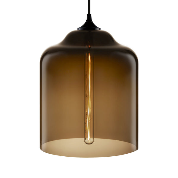 Chocolate Bell Jar Pendant Light