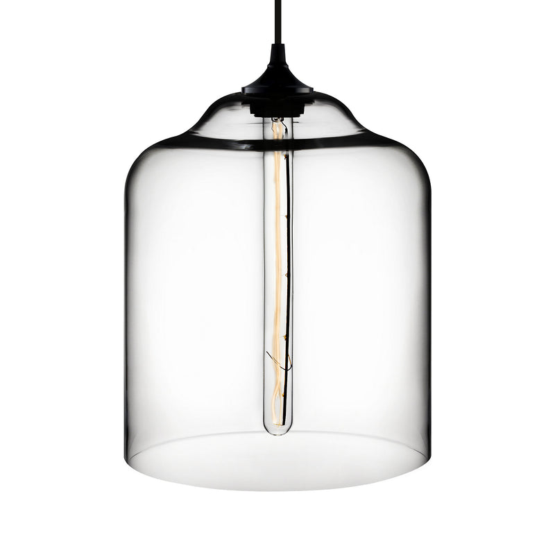 Crystal Bell Jar Pendant Light