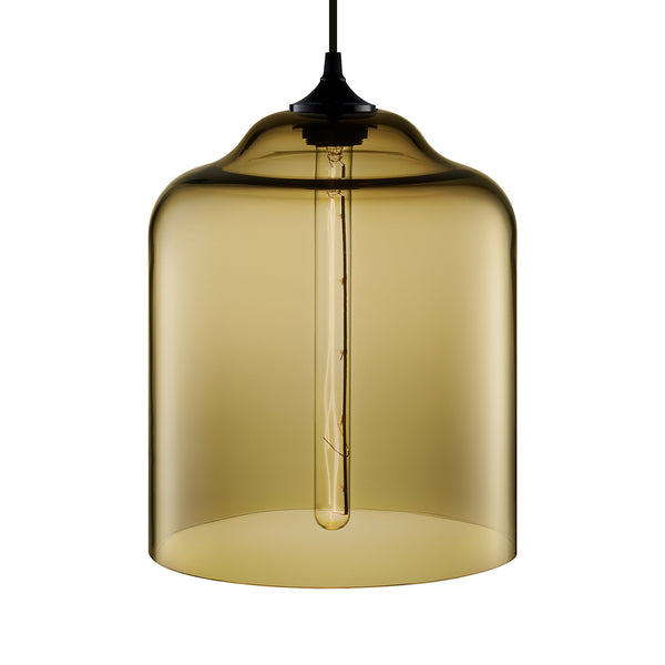 Smoke Bell Jar Pendant Light