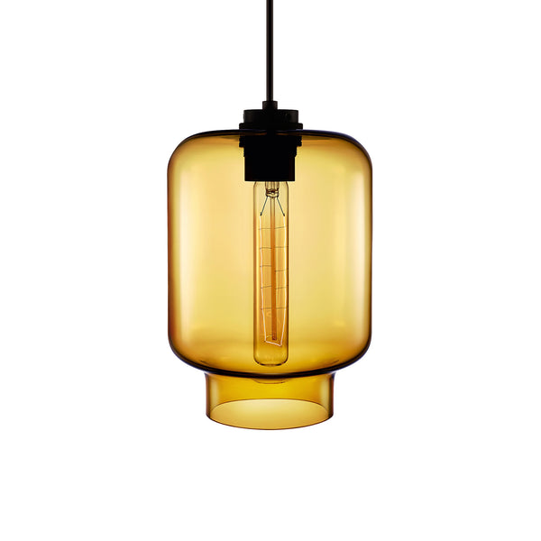 Amber Calla Pendant Light
