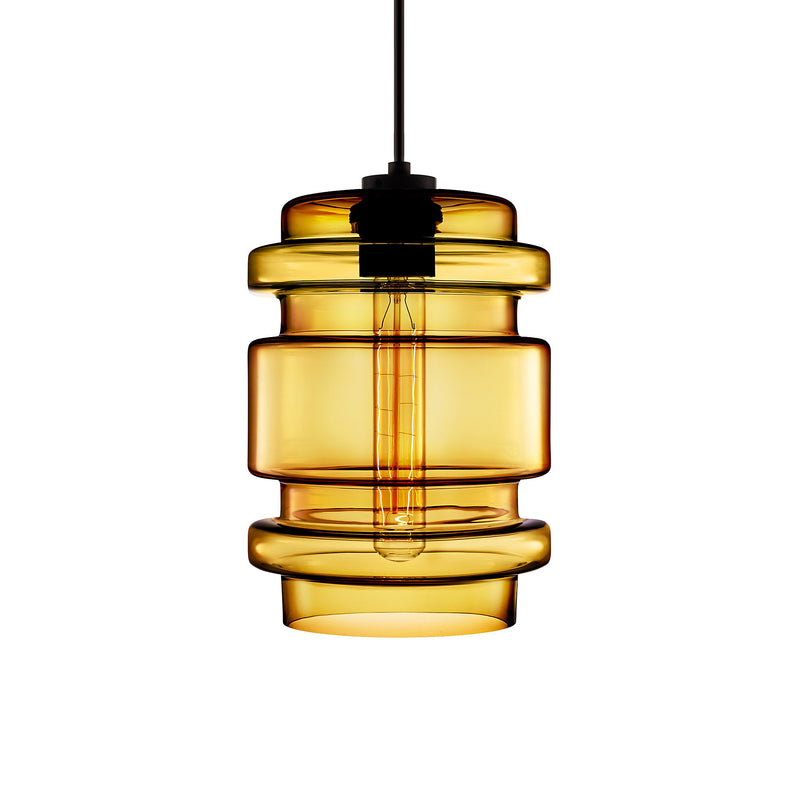 Amber Delinea Pendant Light
