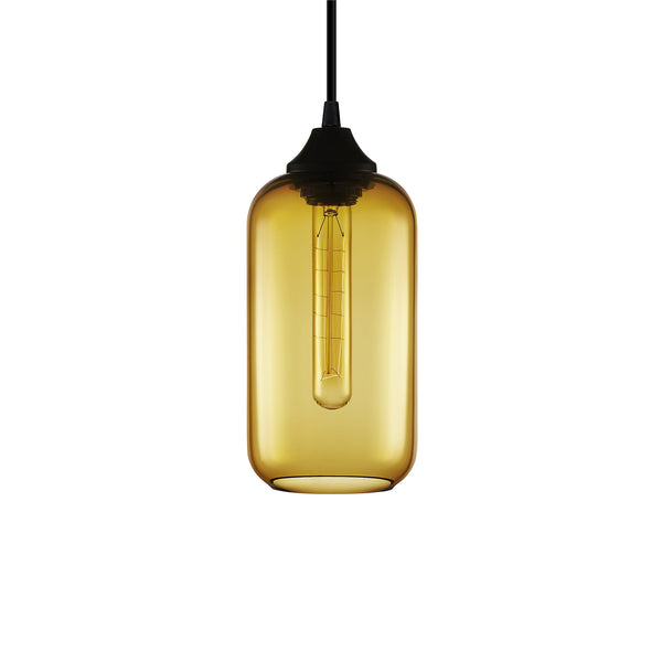 Amber Helio Pendant Light