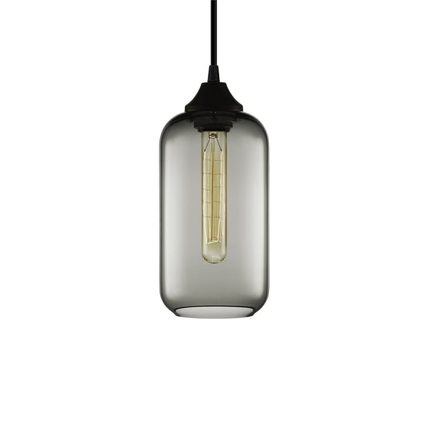 Gray Helio Pendant Light