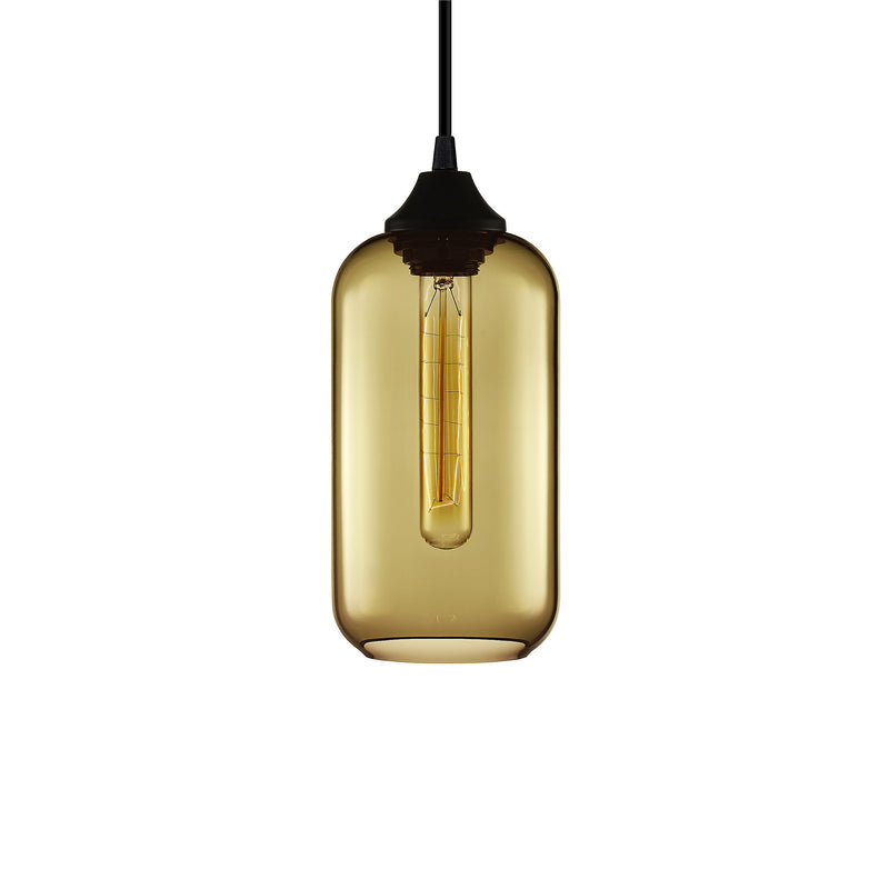 Smoke Helio Pendant Light