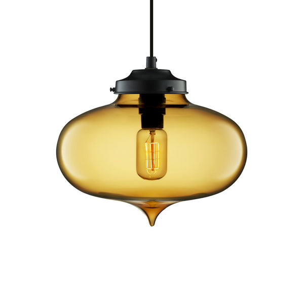 Amber Minaret Pendant Light