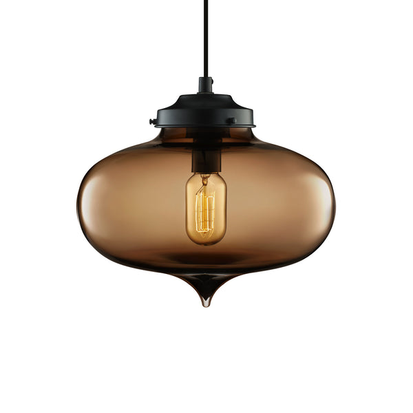 Chocolate Minaret Pendant Light