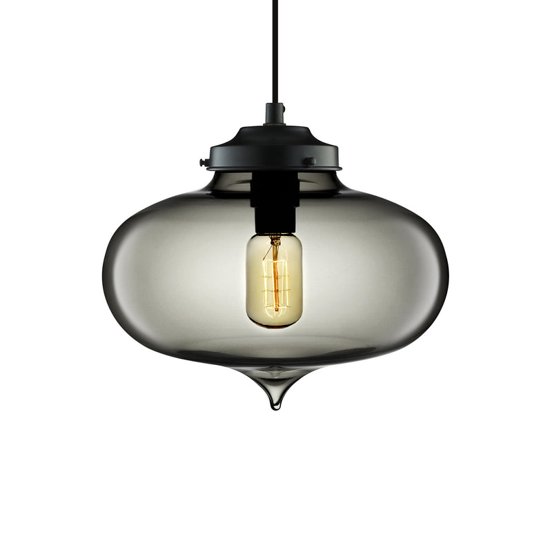 Gray Minaret Pendant Light