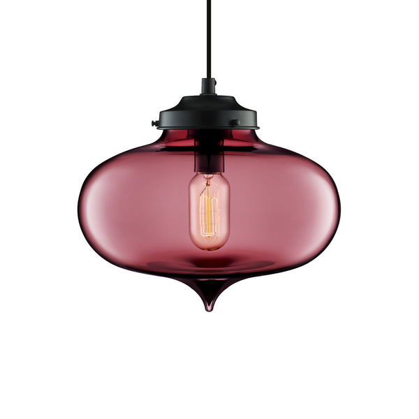 Plum Minaret Pendant Light