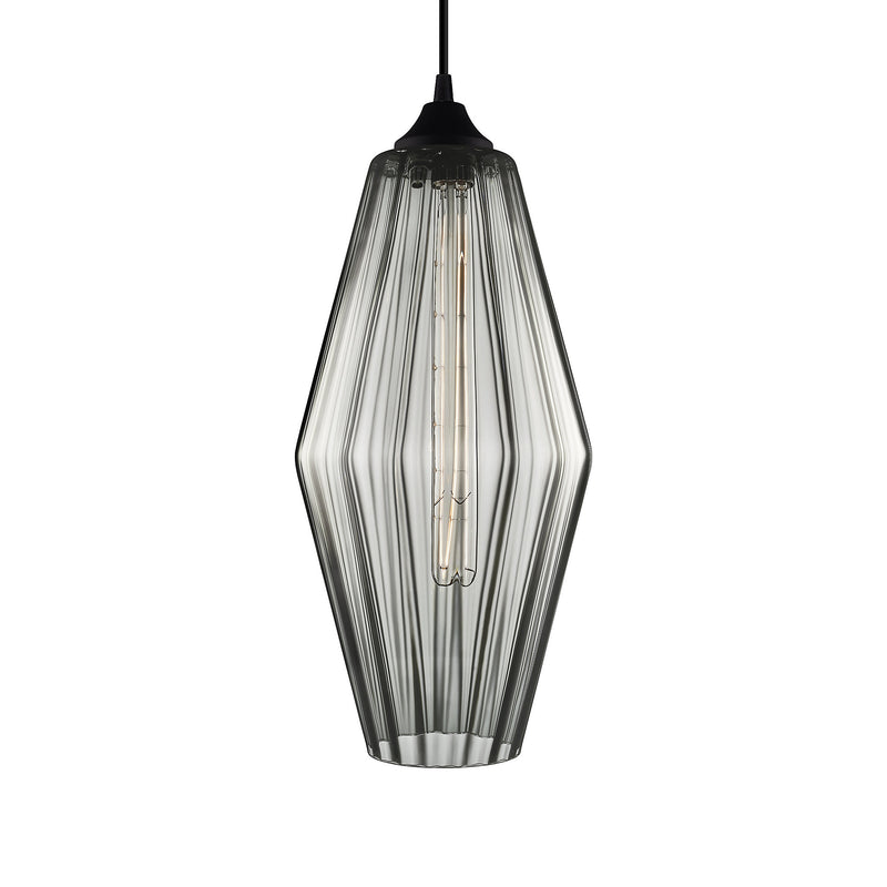 Gray Optique Marquise Grand Pendant Light