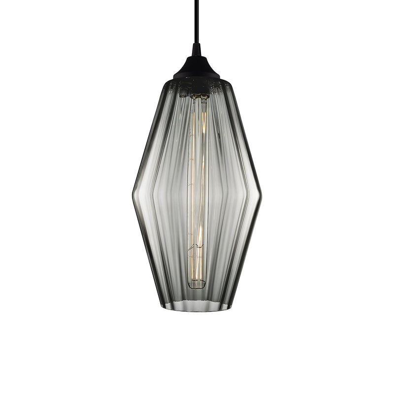 Gray Optique Marquise Pendant Light