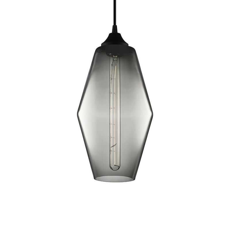 Gray Marquise Pendant Light