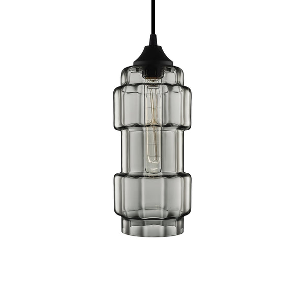 Gray Optique Muralla Pendant Light