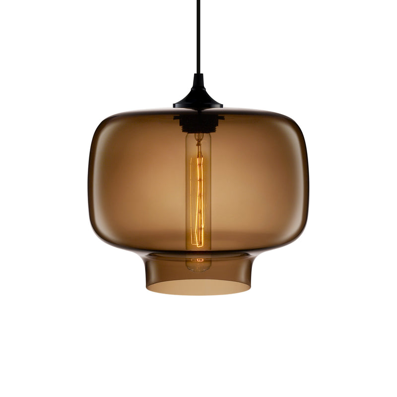 Chocolate Oculo Pendant Light