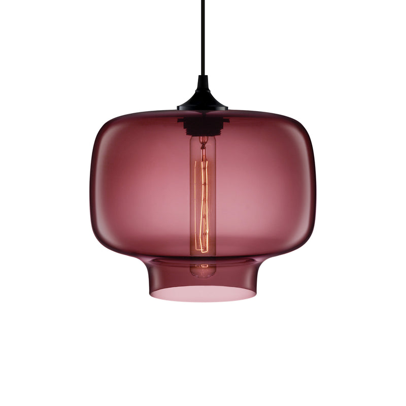 Plum Oculo Pendant Light