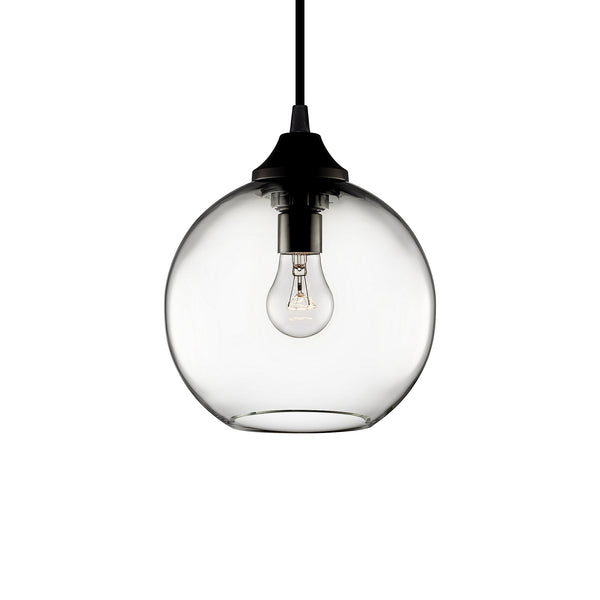 Crystal Solitaire Petite Pendant Light