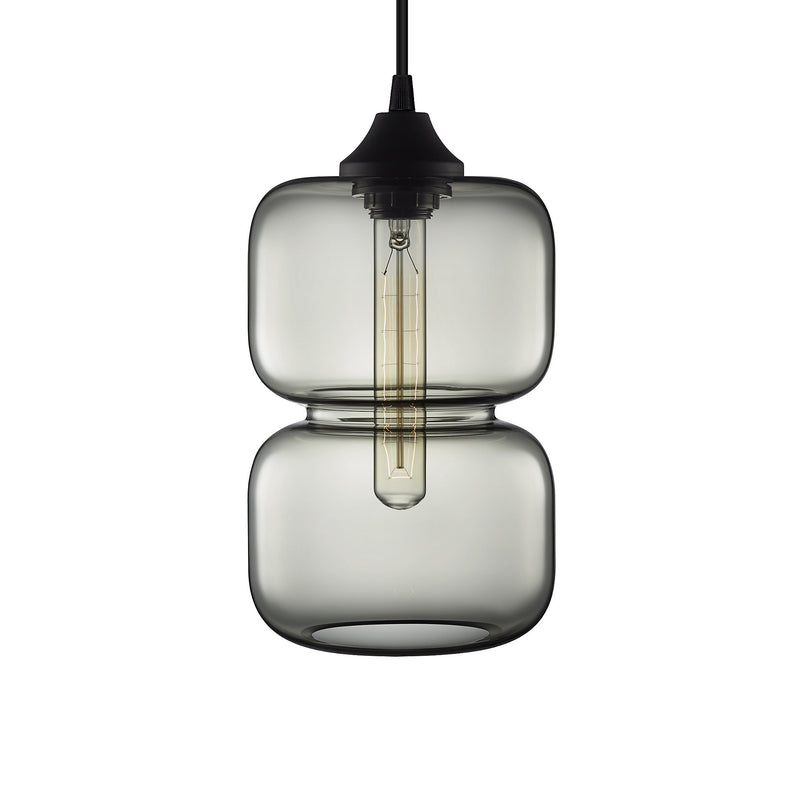 Gray Pinch Pendant Light