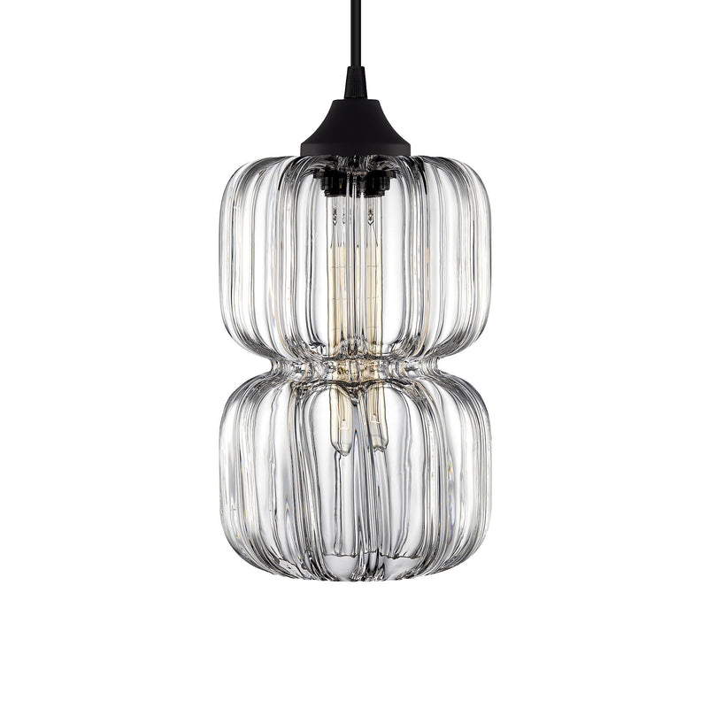 Crystal Optique Pinch Pendant Light