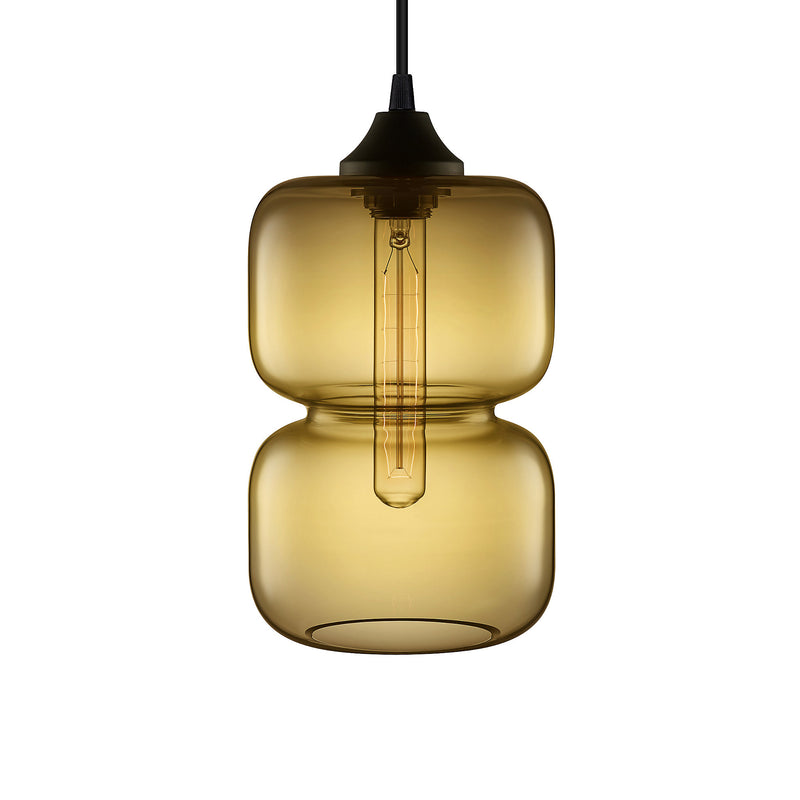 Smoke Pinch Pendant Light