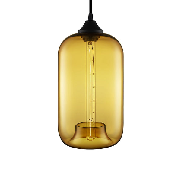 Amber Pod Pendant Light