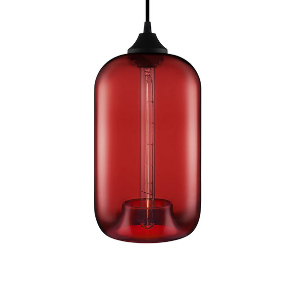 Crimson Pod Pendant Light