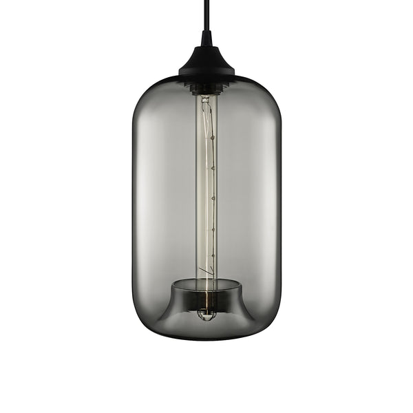 Gray Pod Pendant Light