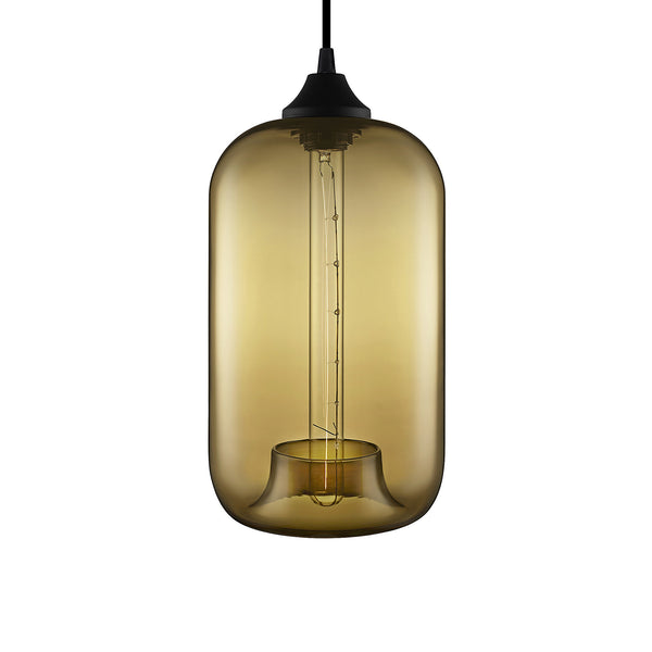 Smoke Pod Pendant Light