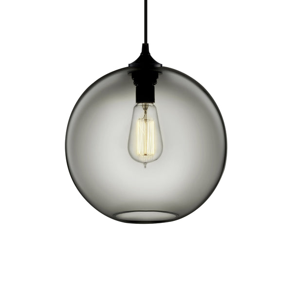 Gray Solitaire Pendant Light