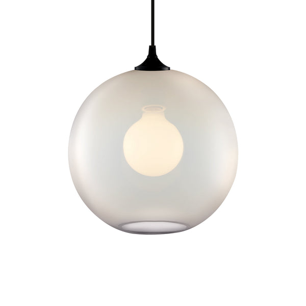 Opaline Solitaire Pendant Light