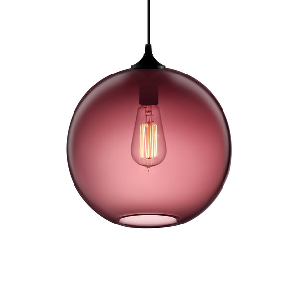 Plum Solitaire Pendant Light