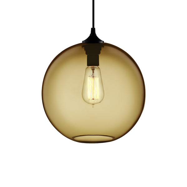 Smoke Solitaire Pendant Light