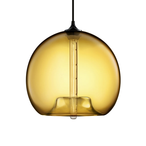 Amber Stamen Pendant Light