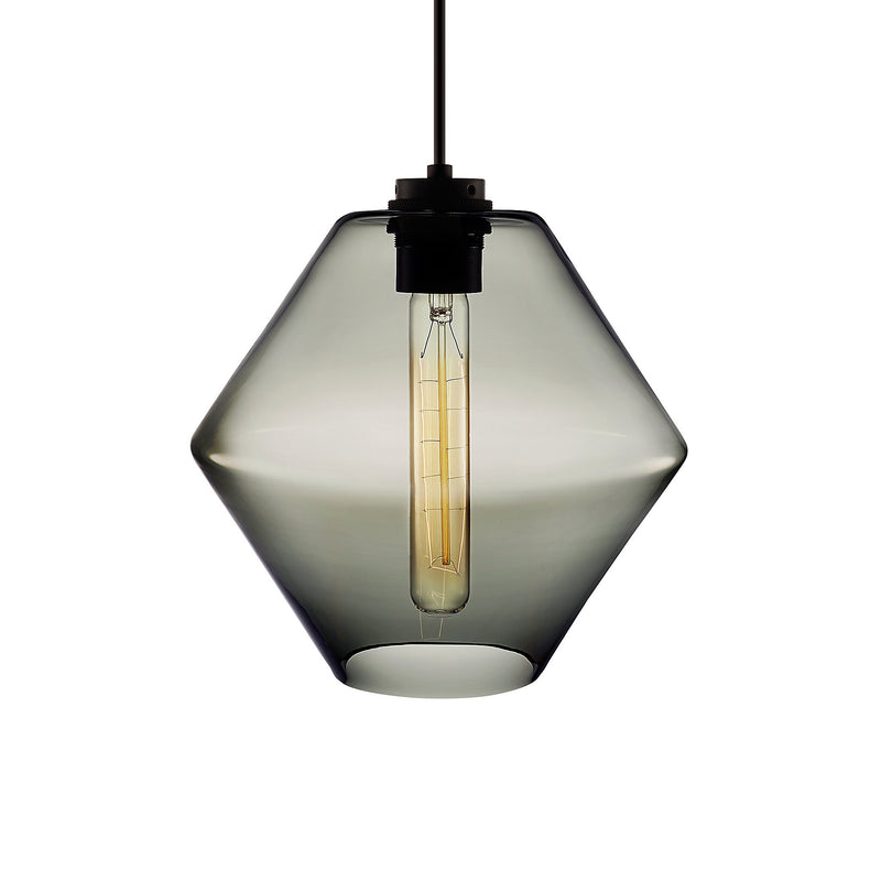 Gray Trove Pendant Light
