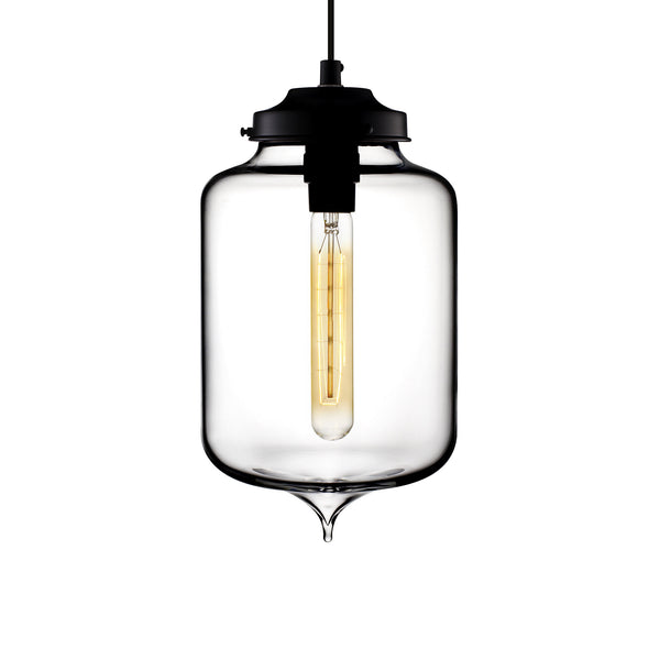 Crystal Turret Pendant Light