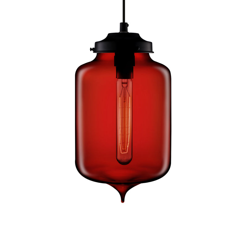 Crimson Turret Pendant Light
