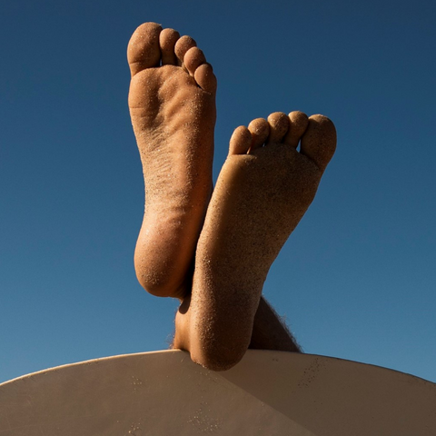 Foot care routine for men