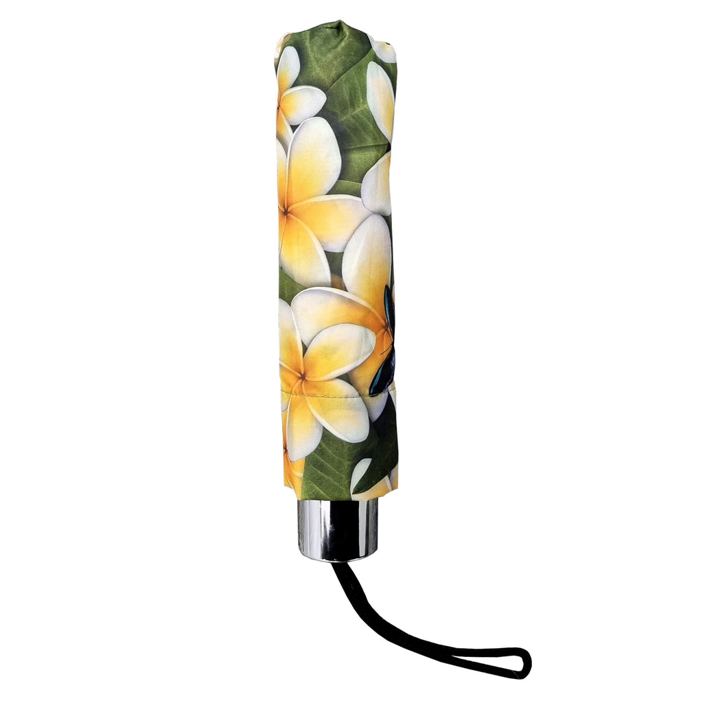 UPF25 Shelta Capricorn Mini Frangipani White Umbrella