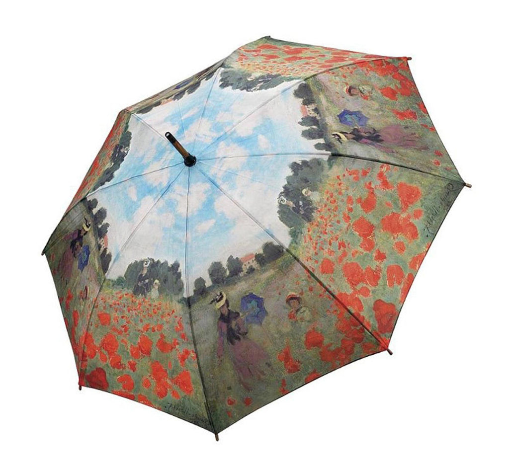 Clifton Galleria Monet Poppy Field Auto Open Close Folding