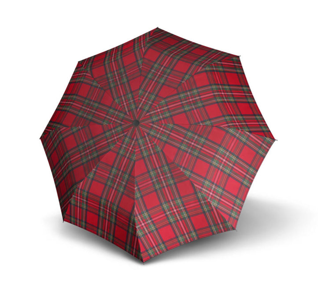 Doppler Carbonsteel Long Automatic Woven Check Zwolf Umbrella