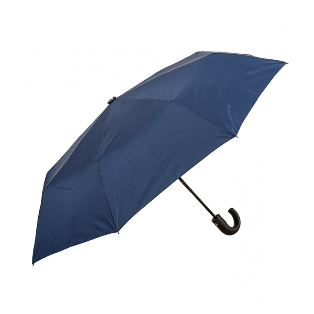 Clifton Auto Open Mens Folding Navy UPF50+ Umbrella