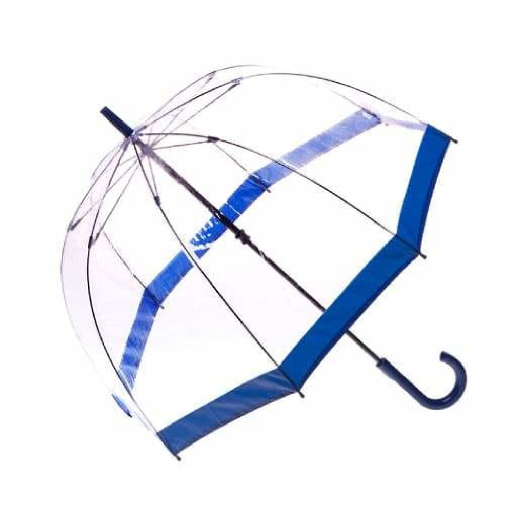 Clifton Childrens Kids PVC Birdcage Navy Border Umbrella