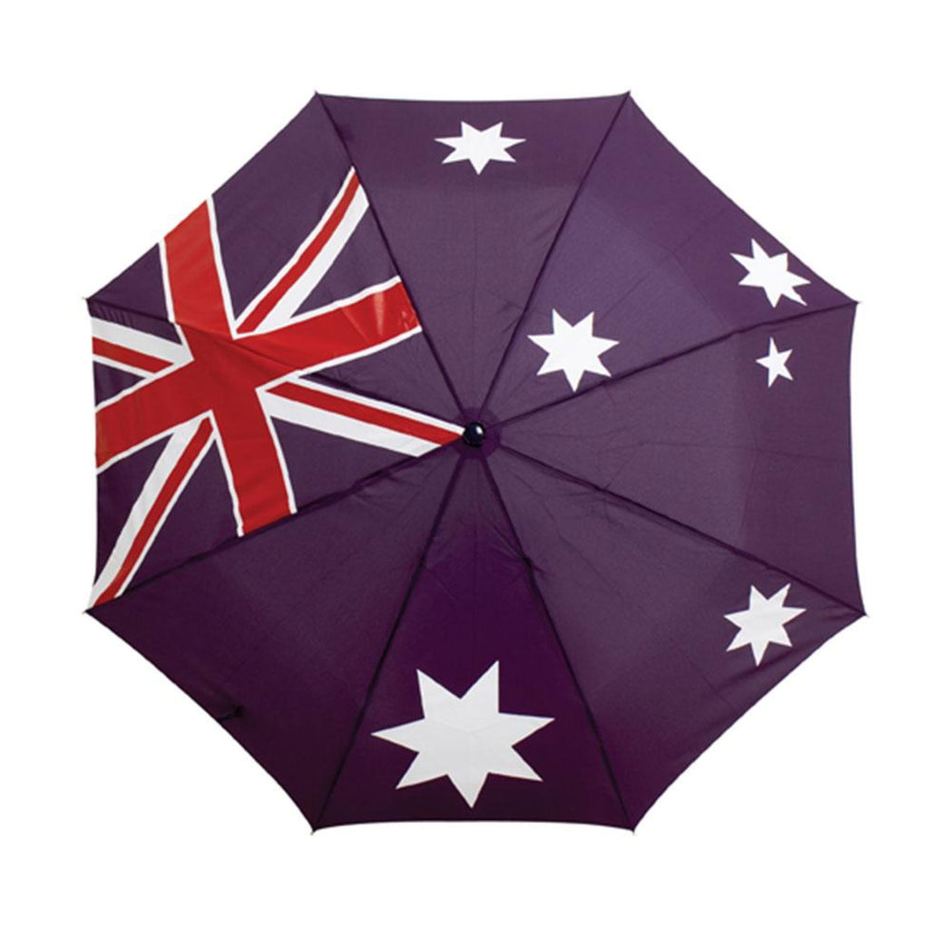 Clifton Mini Maxi Australian Flag Folding Umbrella